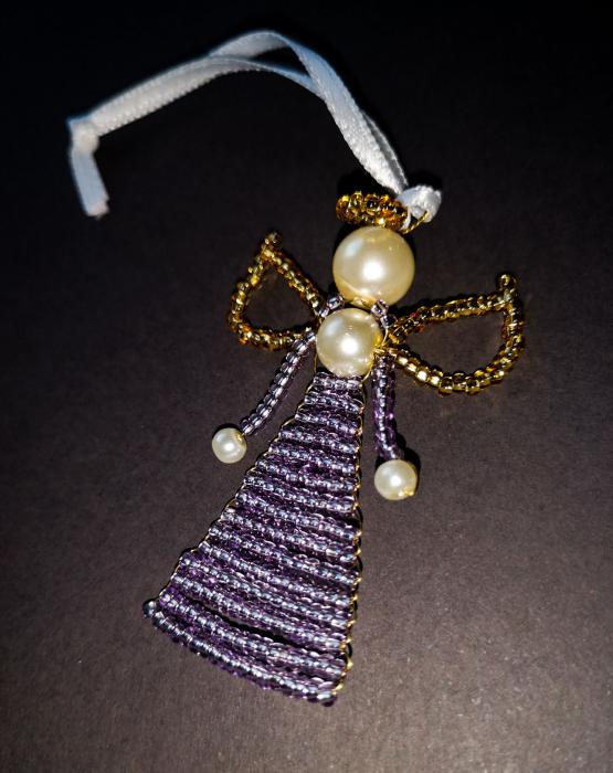 Pearl angel - light purple